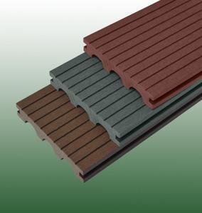 24*150拱形塑木地板